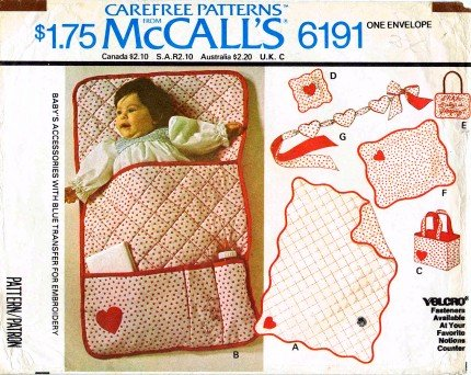 Baby Quilt Bag Patterns - 8