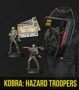 Knight Models Juego de Mesa - Miniaturas Resina DC Comics Superheroe - Batman Kobra Hazard Troopers: Amazon.es: Juguetes y juegos