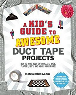 A Kids Guide To Awesome Duct Tape Projects How Make Your Own Wallets