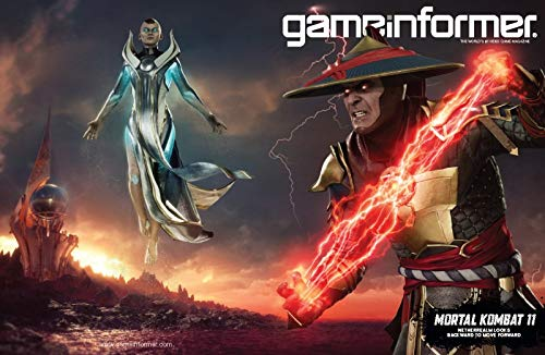 Game Informer - The World's #1 Video Game Magazine - Issue 313 - May 2019 - Mortal Kombat 11 - Netherealm Looks Backward to Move Forward (Game Informer Issue 1)