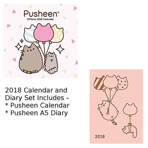 pusheen 2018 square calendar a5 diary buy online in qatar kids products in qatar see prices reviews and free delivery desertcart qatar