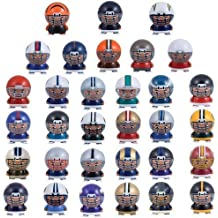 "NFL FOOTBALL SET of 32 BUILDABLE TEAM FIGURES - NFL Football Team Buildable Figure Set Consisting of 32 Team Buildable 2"" Figures Featuring Green Bay Packers, Miami Dolphins, Tennessee Titans, Denver Broncos, Tampa Bay Buccaneers, Buffalo Bills, Chicago Bears, Seattle Seahawks, Atlanta Falcons, Minnesota Vikings, Carolina Panthers, Jacksonville Jaguars, Philadelphia Eagles, Baltimore Ravens, New York Jets, New England Patriots, San Diego Chargers, New Orleans Saints, Oakland Raiders, Washington Redskins, Indianapolis Colts, Dallas Cowboys, New York Giants, Pittsburgh Steelers, San Francisco 49ers, Arizona Cardinals, St. Louis Rams, Cincinnati Bengals, and Cleveland Browns"