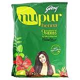 Godrej Nupur Mehendi Powder 9 Herbs Blend-55 Grams