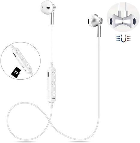 4.2 Bluetooth Kopfh/örer Kabellos f/ür Sport Wireless Kopfh/örer Kabellos Sport Ohrh/örer Wasserdicht Bluetooth Headsets Wireless In-Ear-Sportohrh/örer Wireless Headset HD-Klangqualit/ät Kopfh/örer