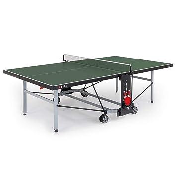 Sponeta Sportline Mesa de Ping Pong para Exteriores, Color Verde ...