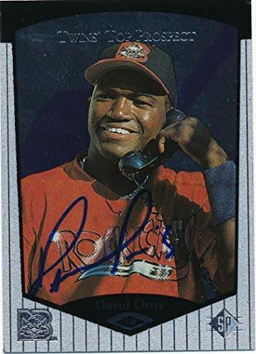 David Ortiz Signed Autographed 1998 Upper Deck Prospect Baseball Card