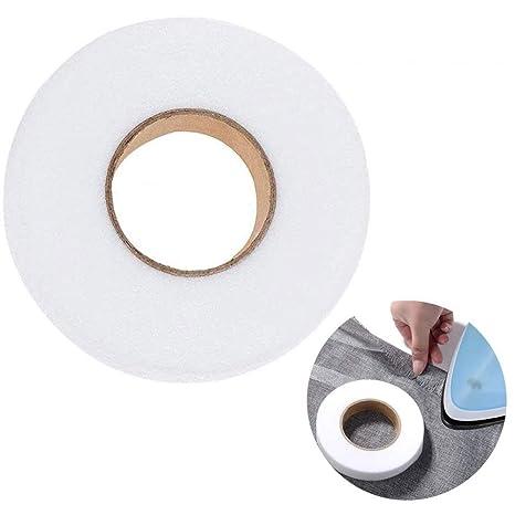 1Roll 70 Yards Iron On Hem Tape Fabric Fusing Hemming No Sew Repair Clothing US
