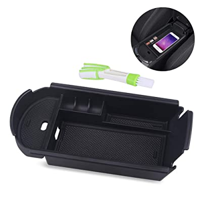 VANJING Center Console Organizer Tray Compatible for 2016-2020 Toyota C-HR CHR Accessories with A Cleaner Brush: Automotive