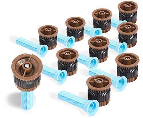 10-Pack Rainbird High Efficiency HE-VAN-12 Variable Arc Nozzles 10'-12' Adjustable Radius ()