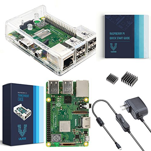V-Kits Raspberry Pi 3 Model B+ (Plus) Basic Starter Kit [LATEST MODEL (Basic Starter Kit)