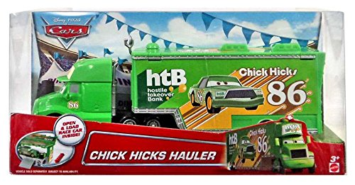 Disney/Pixar Cars, Exclusive Chick Hicks Hauler Die-Cast Vehicle, 1:55 Scale (Chick Hicks Pixar)