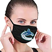 KIKIMEN Van Vancouver- Canucks Hockey Team Adult Fashionable Reusable Washable Face Masks Dust Windproof Face