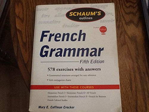 French Grammar, 5th Edition