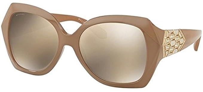 Amazon.com: Bvlgari Mujer bv8182b anteojos de sol: Clothing