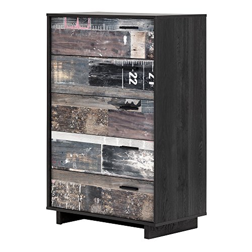 South Shore 11755 Fynn 5-Drawer Chest, Gray