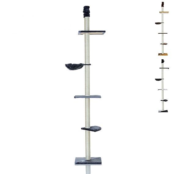 LCP XXL Katzen Kratzbaum Kletterbaum deckenhoch groß   240-270 cm Höhe   8 cm Dicke Sisal Säulen