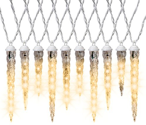Gemmy Icicle Lights Led