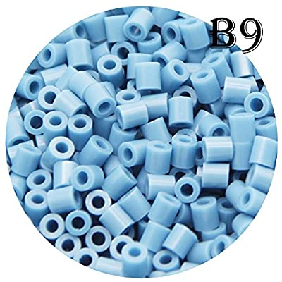 H&W 5mm Fuse Bead Refill Bag - Steel Blue 1500 Count (B9): Fuse Bead B9: Arts, Crafts & Sewing