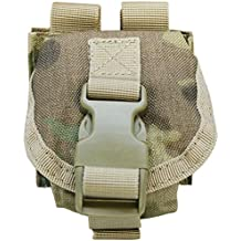 MULTICAM Tactical M67 One Single Frag Hand Grenade Pouch Molle Pals Bag Holds 1