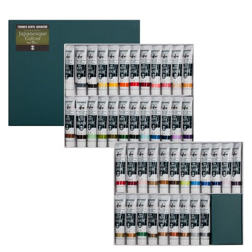 turner-acryl-gouache-japanesque-45-color-set-20-ml-tubes