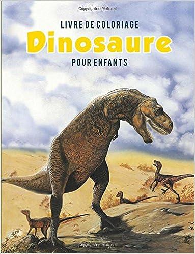 Livre Coloriage Dinosaure.Livre De Coloriage Dinosaure Pour Enfants French Edition Coloring