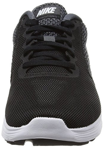 NikeWMNS NIKE REVOLUTION 3 - Zapatillas de Running Mujer Negro (Dark Grey/white/black)