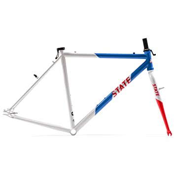 State Bicycle Co Single Speed Cyclocross Bike Frame/Fork Set ...