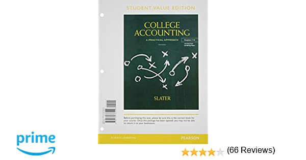 Amazon.com: College Accounting Chapers 1-12, Student Value Edition ...