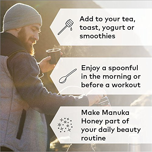 Comvita Certified UMF 15+ (MGO 514+) Manuka Honey I New Zealand's #1 Manuka Brand I Raw, Non-GMO, Halal, and Kosher | Super Premium Grade (8.8 oz)
