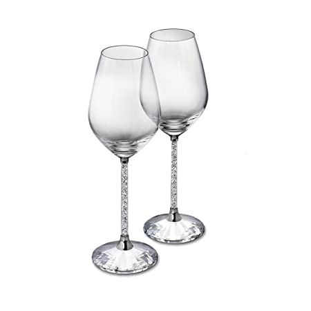 c29cde86817 Diamond Affair Wine Glasses with Swarovski Crystals