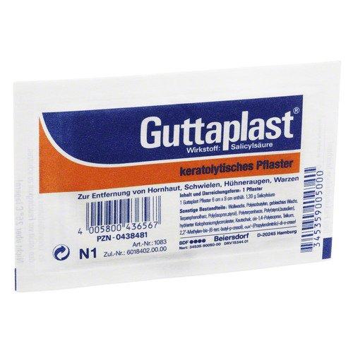 Hansaplast MED Guttaplast 6 cm x 9 cm, 1 St