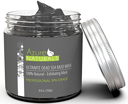 Spa Sea Mud (ULTIMATE Dead Sea Mud Facial Mask 100% Pure Spa Size, Skin Cleanser, Clarifier, Detoxifier, Restorative Anti-Aging Mask Improves Overall Complexion, Aids in Reducing Acne and Blemishes)