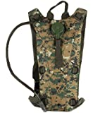Ultimate Arms Gear Tactical Marpat Woodland Digital Camo Camouflage Hydration Pack Backpack Carrier With 2.5 Liter / 84 oz