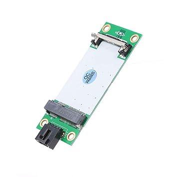 Docooler Mini PCIe WWAN a USB Tarjeta de Adaptador con ...