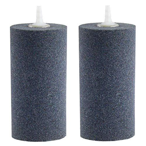 AQUANEAT 2 Pack Air Stone, 4 X 2 Inch Large Air
