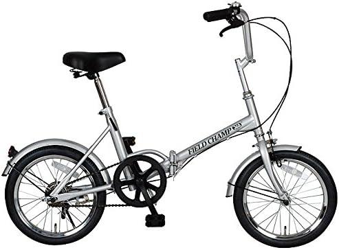 フィールド チャンプ【FIELD CHAMP】 折り畳み自転車 16インチ FDB16 No.72750 1711 シルバー