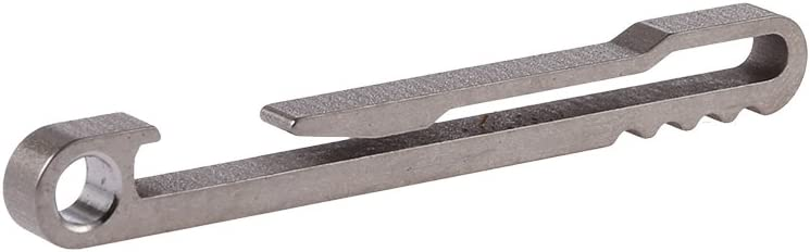 Titanium Alloy Keychain Key Ring Belt Hook Qucickdraw EDC Tool