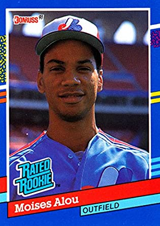 Image result for moises alou rookie card