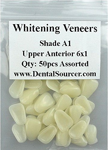 Dental Ultra-Thin Whitening Veneers Resin Teeth Upper Anterior Shade A1 80 PIECE from Unknown