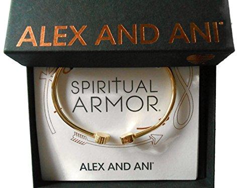 Alex and Ani Women's Calavera Cuff Bracelet, 14kt Gold Plated ()