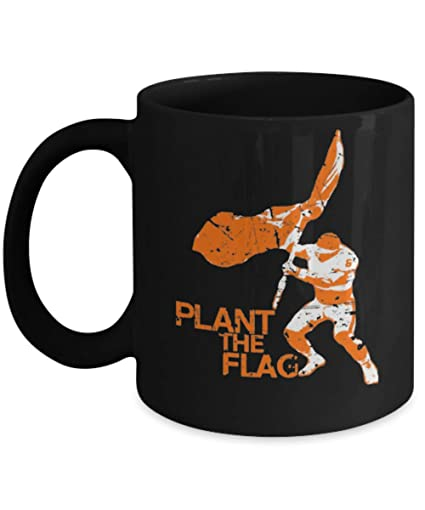 Image Unavailable. Image not available for. Color  Baker Mayfield Cleveland  Plant The Flag Football ... 3f6e48000