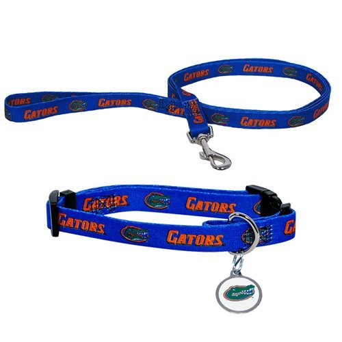 Hunter University of Florida Pet Combo Set (Collar, Lead, ID Tag), X-Small