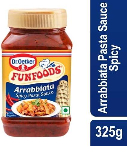 Funfoods Dr. Oetker Italian Arrabbiata Sauce, 325g