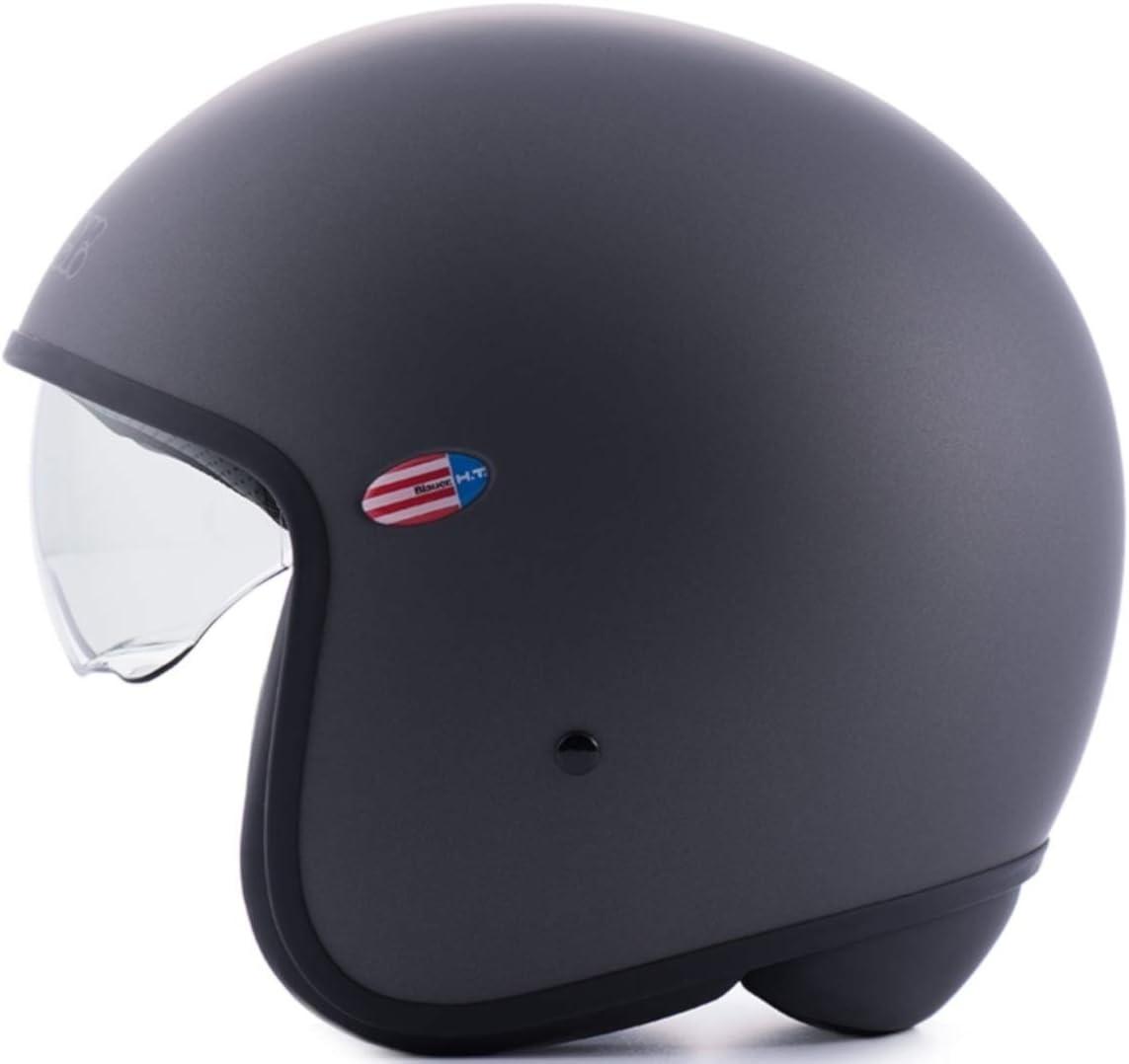 Blauer HT casco Pilot 1.1/Monochrome Titanium Matt L