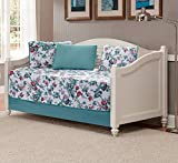 Fancy Linen 5pc Daybed Set Bed Cover with Flowers