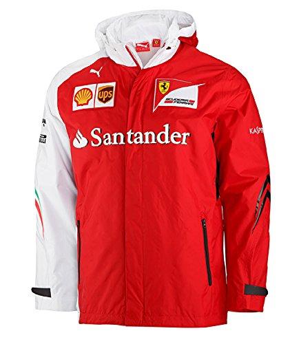Puma SF Scuderia Ferrari de Fórmula 1 F1 Team Jacket chaqueta de nylon Allwetterjacke