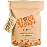 INDONESIAN SUMATRA Dark Roast Whole Bean Coffee   Single Origin Small Batch Roasted   Naturally Processed 100% Arabica   Full Body, Bold, Rich, Complex Flavor