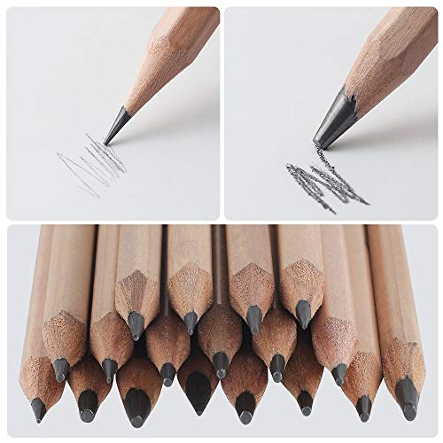 Sketching Pencil Set, Drawing Pencils and Sketch Kit,30-Piece Complete Artist Kit Includes Graphite Pencils,Charcoal Pencils, Paper Erasable Pen, Sketch Pencils Set for Drawing
