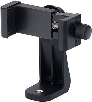 Soporte para trípode de smartphone, adaptador giratorio de 360 ...