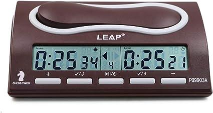 Gloaso Digital Chess Clock Count UP DOWN Bonus Delay Chess Timer ...